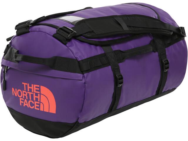 The North Face Base Camp Duffel S, hero purple/tnf black